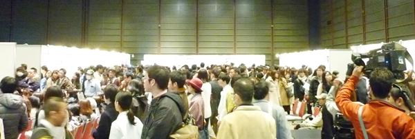 当日は約3,000人の来場で大盛況でした!