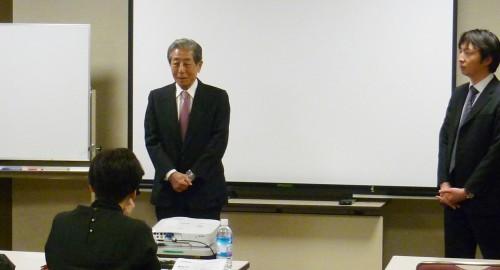 吉田 新理事長より開会の挨拶