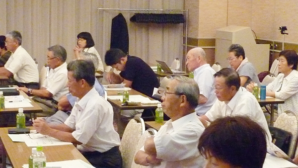滋賀県でボランティアで結婚相談をされている多くの方々がご参加されています
