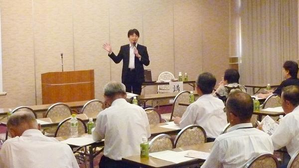 原口理事(事務局長)が滋賀県守山市で講演しました!
