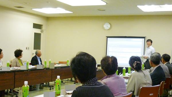 原口理事(事務局長)、今回は羽生市社会福祉協議会で講演しました